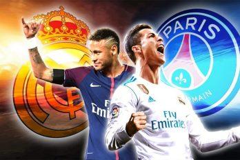 Le PSG contre le Real: Une bataille de gros sous!