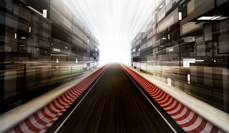 Formule 1 plein demarrage