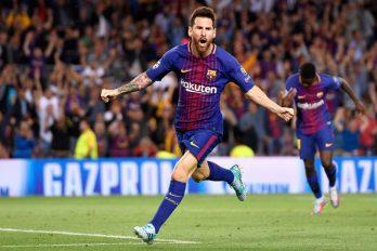 Lionel Messi rejoint le club des 100