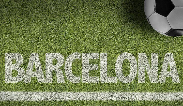 Le Barca bat l'AS Rome en Ligue des Champions football