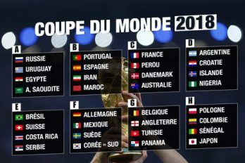 Pronostic coupe du monde 2018