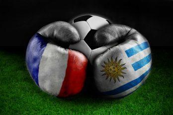 La France affronte la sélection uruguayenne en quarts