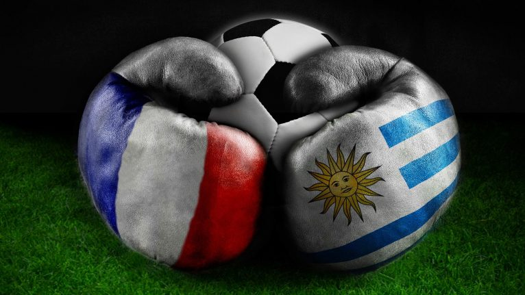 France uraguay football