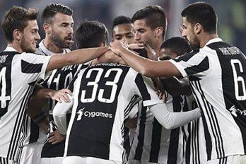 La Juventus tout près de sa 1ère défaite
